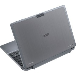 "Acer - One 10 - 10.1"" - Intel Atom - 32GB - With Keyboard - Silver"